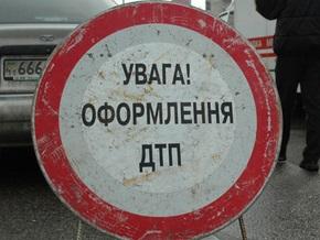 В Житомирской области перевернулся автобус с туристами