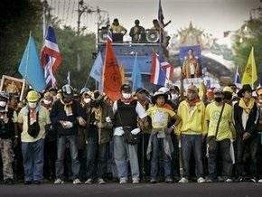 В Бангкоке оппозиция блокировала здание парламента страны
