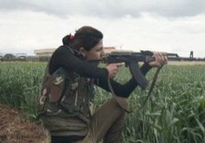 СМИ: В Сирии на стороне Асада воюют курдские женщины