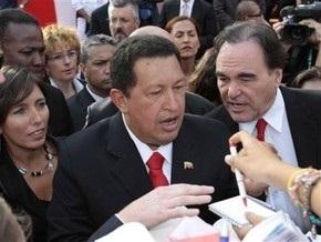 Уго Чавес раздавал автографы на красной дорожке Венецианского кинофестиваля