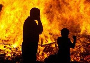 В Москве при тушении пожара погибли двое спасателей