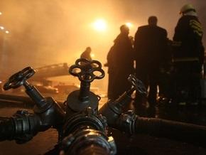 Ночью в Херсонской области горело здание налоговой инспекции