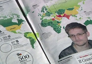 Сноуден попросил убежище еще в шести странах - Wikileaks