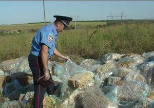 В Запорожской области в лесопосадке нашли 15 тонн мясного фарша