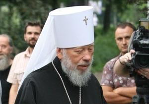 Митрополит Владимир в больнице примет причастие