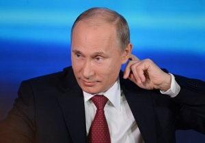 Садись, Маша. Спасибо, Вова - Путин пообщался с журналистами