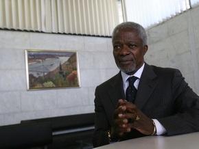 Специалист по миру. Интервью с Кофи Ананом