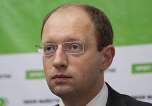 Яценюк заявил о подготовке властью изменений в закон о выборах