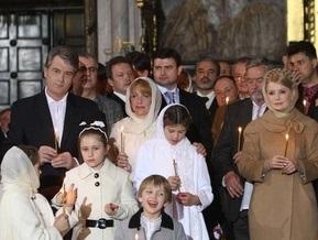 Ющенко считает материнство Божьим даром, а Тимошенко - лучшей профессией в мире