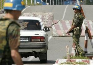 Единственный КПП на границе России и Грузии возобновил работу