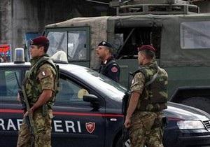 Итальянская полиция арестовала 40 мафиози