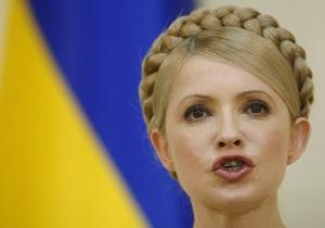 Тимошенко обвинила Януковича в фальсификации выборов