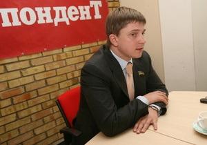 Олесь Довгий задекларировал 1,2 млн гривен дохода в 2009 году