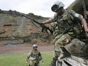 Миротворцам ООН в Конго приказали стрелять по наступающим повстанцам