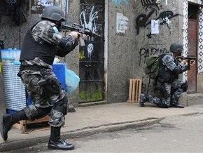 Жертвами войны наркоторговцев в Рио-де-Жанейро стали 25 человек