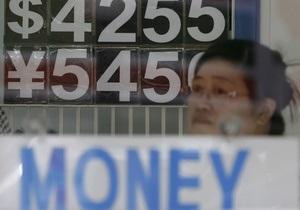 Иена обвалилась до многолетних минимумов к доллару и евро
