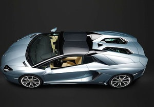 Lamborghini рассекретила Aventador без крыши