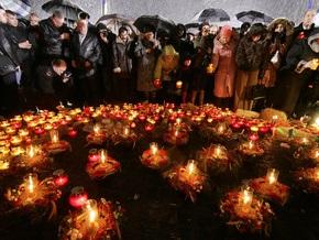 Президент почтил память жертв Голодомора