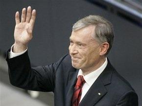 Президентом Германии переизбран Хорст Келер
