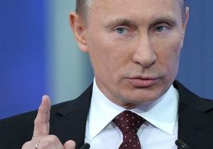 Путин поручил обеспечить камерами все избирательные участки