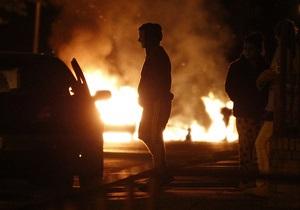В Манчестере произошли крупнейшие за 30 лет беспорядки
