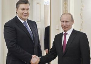 После переговоров в Киеве Янукович и Путин отправятся в Севастополь
