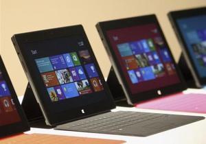 Microsoft обвалила цену на свой дебютный планшет из-за отсутствия спроса - surface rt