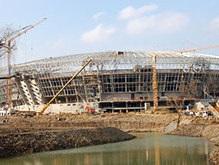 Стадион в Донецке не будет готов к сроку