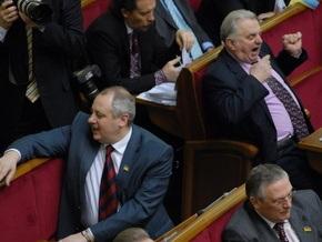 Блок Литвина выступил против кулуарных договоренностей