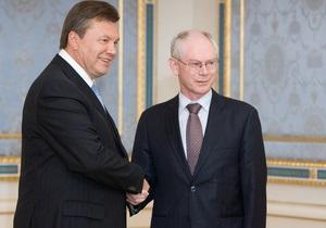 Янукович заявил, что Украина может стать  мостиком  между Евросоюзом и Беларусью