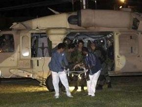 В результате палестинского обстрела ранены шесть израильских солдат