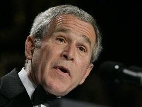 Буш заявил, что США преодолеют финансовый кризис