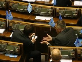 Рада приняла в первом чтении закон о социальной защите населения от кризиса