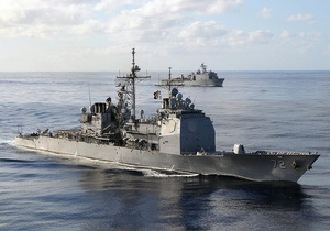 В порты Севастополя и Одессы зайдет американский ракетный крейсер