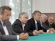 Ющенко и лидеры четырех государств прибыли в Тбилиси