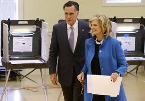 Ромни продолжает агитацию в день выборов