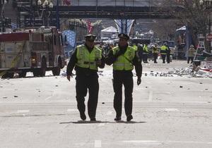 ФБР назвала приметы подозреваемого во взрывах в Бостоне