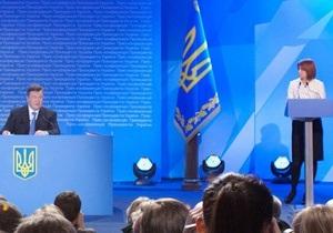 Пресс-секретарь Януковича объяснила, почему он не завидует Найему