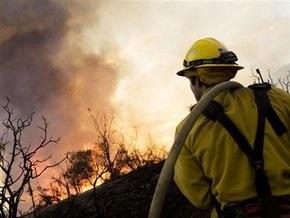 На одной из авиабаз США объявлена эвакуация из-за лесного пожара