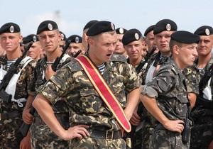 Начальник генштаба: С 2014 года украинцы не будут призываться в армию