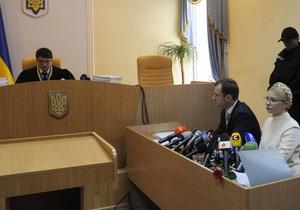 Тимошенко назвала судью Киреева  нелюдем
