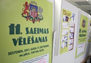 На досрочных выборах в Латвии лидирует партия, защищающая русскоязычных - экзит-полл