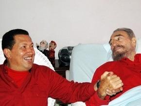 Фидель Кастро назвал Чавеса феноменом мировой политики