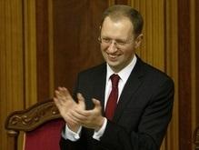 Яценюк покинул Раду: Всех благодарю за внимание