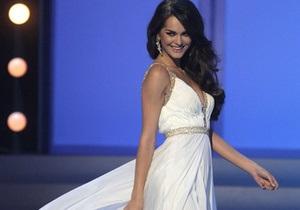 Мисс Украина Вселенная сломала ногу