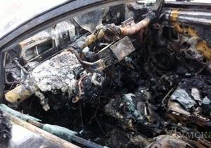 новости Одесской области - поджог - В Одесской области неизвестные сожгли два автомобиля предпринимателя