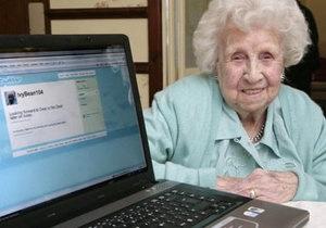 В Британии скончалась 104-летняя пользовательница Facebook и Twitter