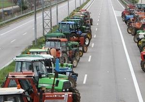 Греческие фермеры разблокировали шоссе на границе с Болгарией