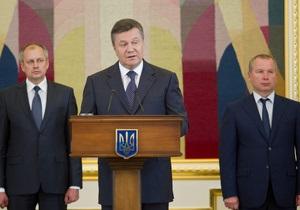 Янукович предложил назначать судей бессрочно