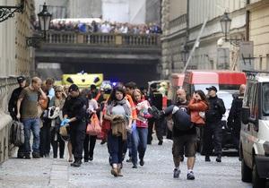 Прага - Из-за угрозы повторного взрыва власти перекрыли часть центра Праги